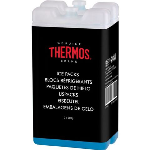 Thermos 2 x 200g Freezer Ice Block Twin Pack